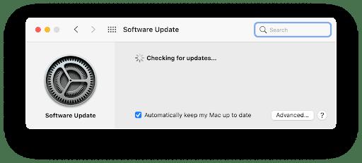 How to update macOS Monterey