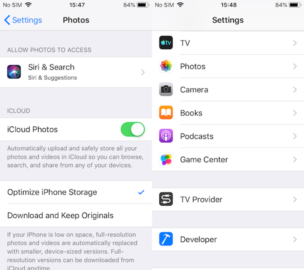 How to sync all iPhone photos to iCloud