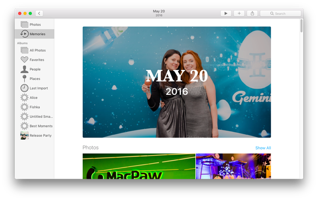 Photo software for mac