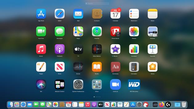 Launchpad on Mac
