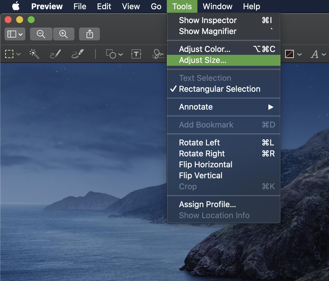 Resize Fotos App For Mac