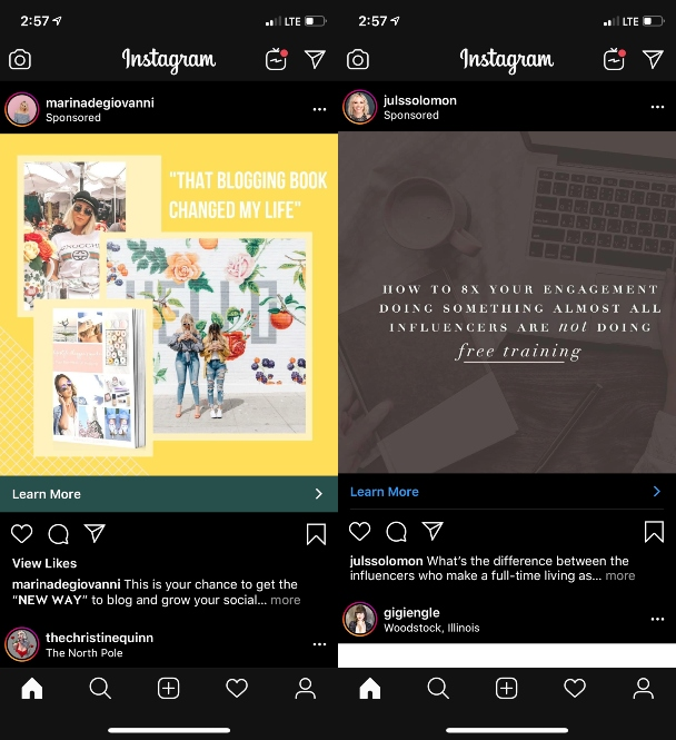 How to add a link to an Instagram post by sponsoring it