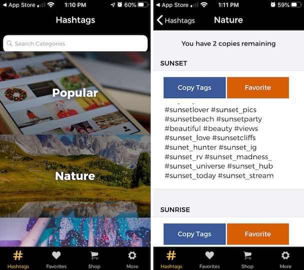 How to find trending Instagram hashtags using Tagstagram