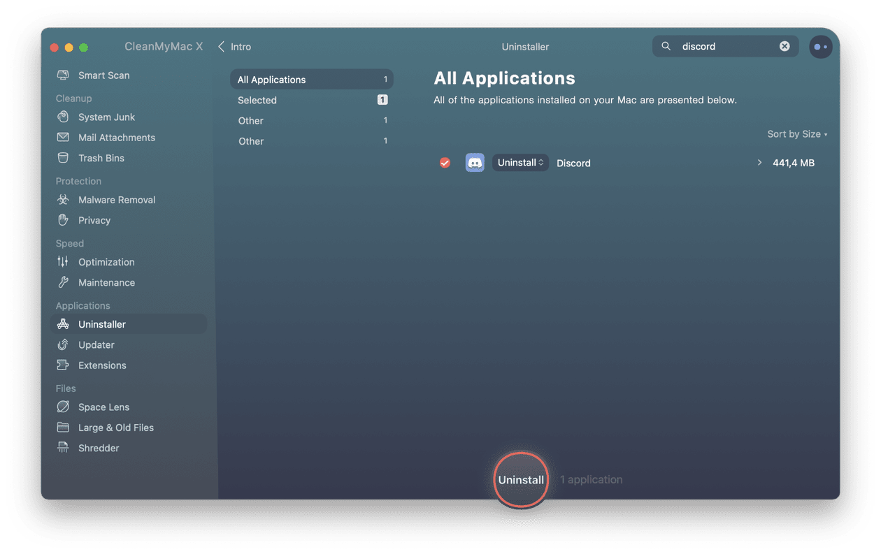 How to uninstall Discord automatically