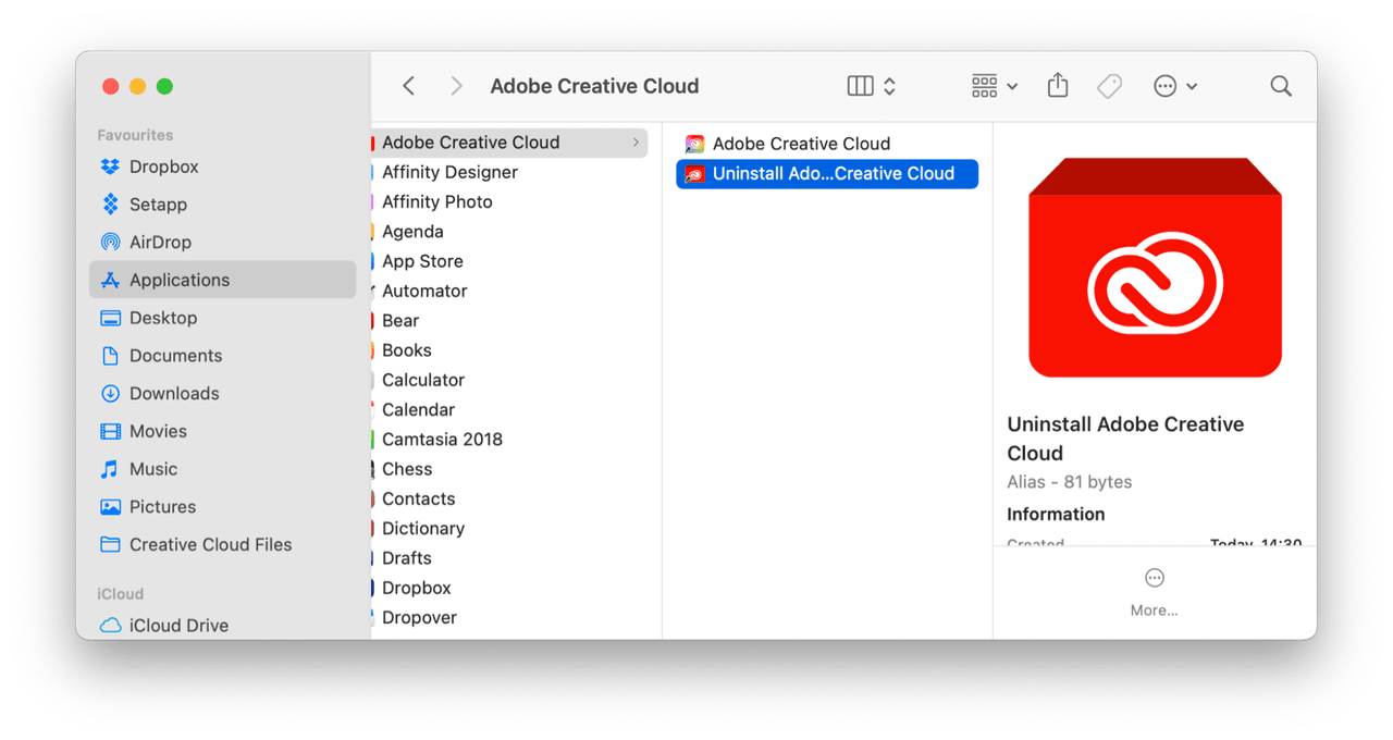How to uninstall Creative Cloud entirely