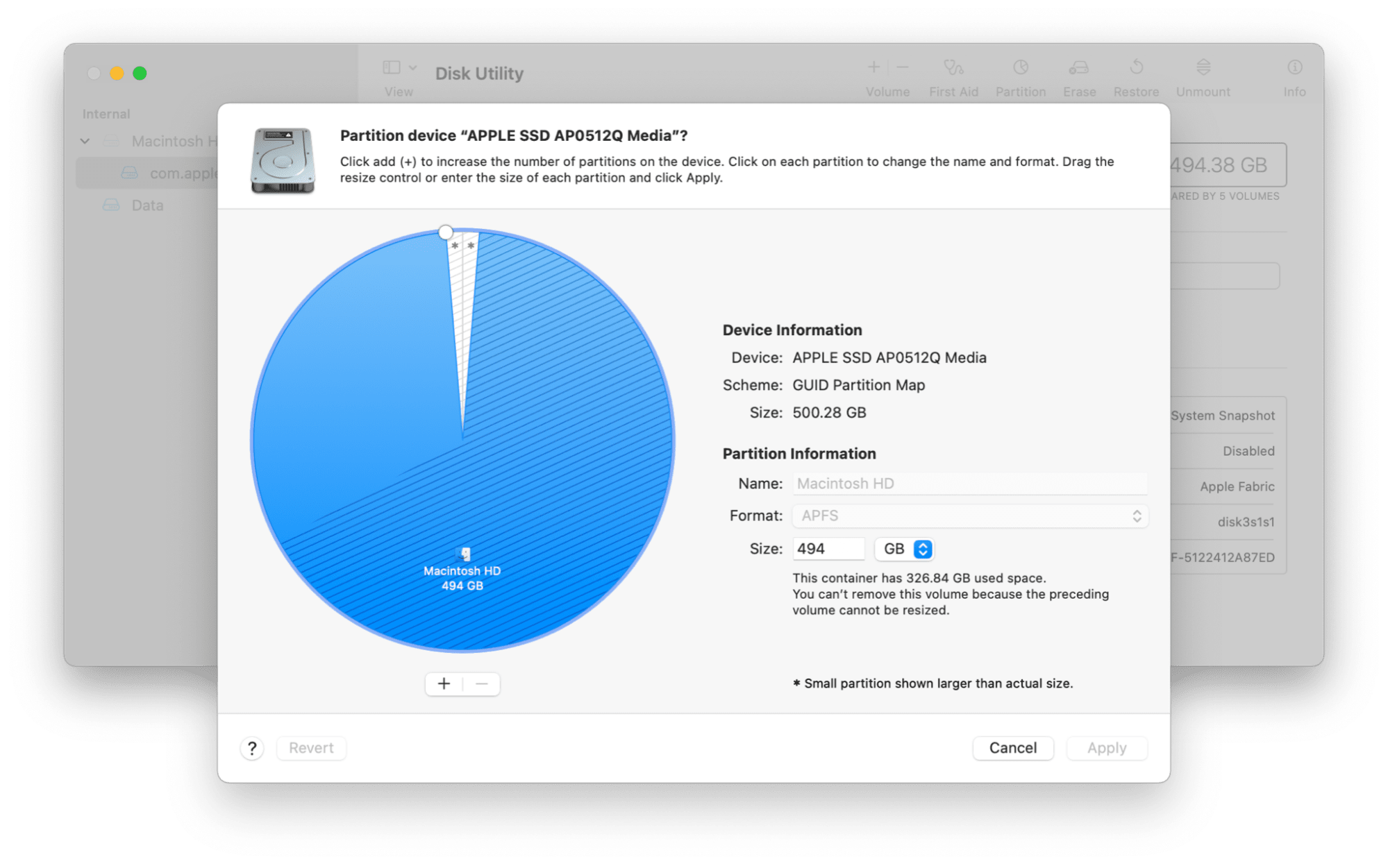 Partitioning a hard drive on Mac