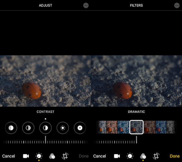 New feature in the latest iPhone iOS: Video editing