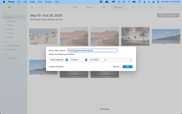 How to use Smart Albums on Mac