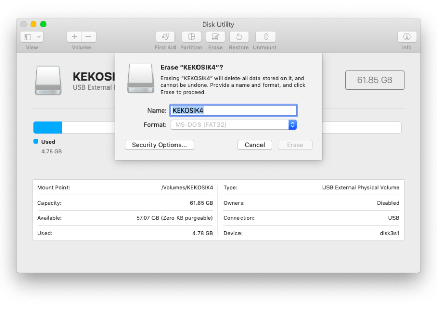How to make a bootable disk for mac