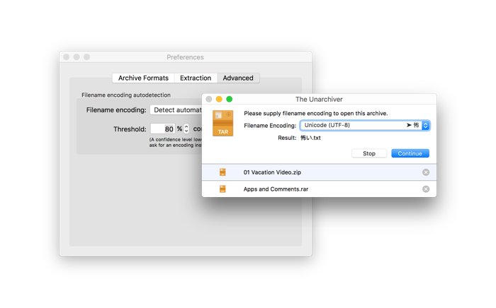 The Unarchiver | Top Free Unarchiving Software for macOS